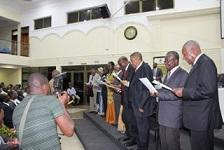 Induction of Prof Anthony Apeke Adimado